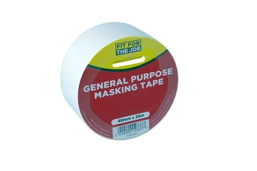 General Purpose Masking Tape, 48 mm, 25 m