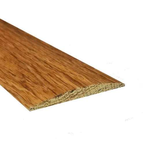 Solid Oak Flat Threshold Strip, Lacquered, 0.9m