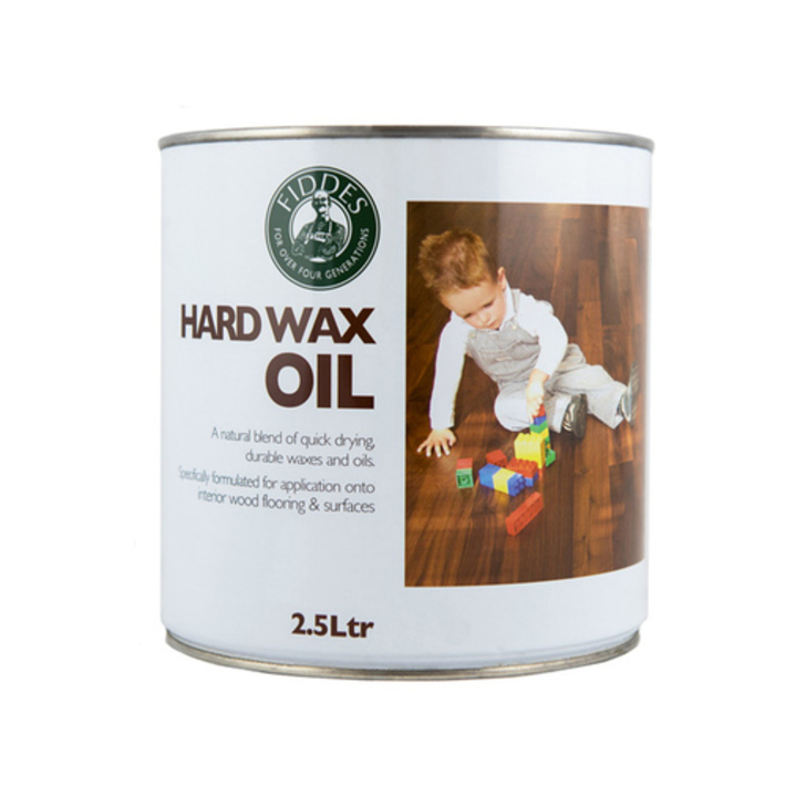 Fiddes Hardwax-Oil, White Finish, 2.5L