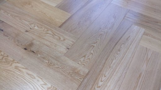 Tradition Engineered Oak Parquet Flooring, Herringbone, Natural, Lacquered, 150x3x14 mm