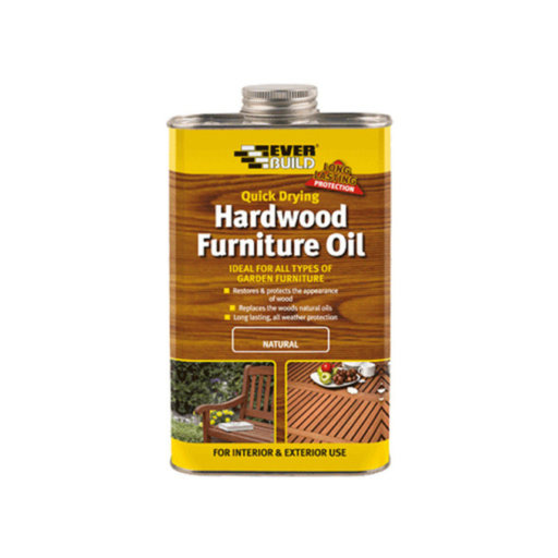 Hardwood Furniture Oil, Natural, 500 ml
