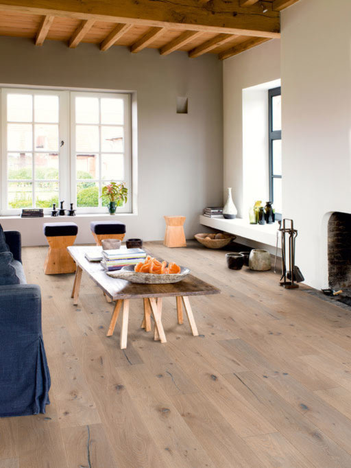 QuickStep Imperio Nougat Oak Engineered Flooring, Oiled, 220x3x14 mm
