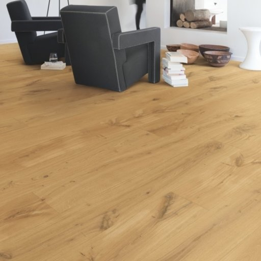 QuickStep Imperio Grain Oak Extra Matt Engineered Flooring, Matt Lacquered, 220x3x14 mm