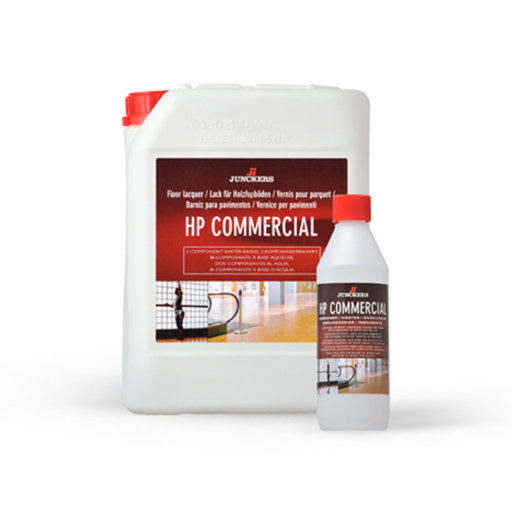 Junckers HP Commercial Varnish, Satin, 4.5L