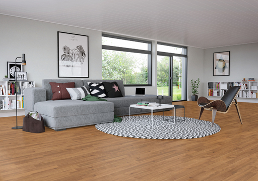 Junckers Beech SylvaKet Solid 2-Strip Flooring, Silk Matt Lacquered, Harmony, 129x22 mm