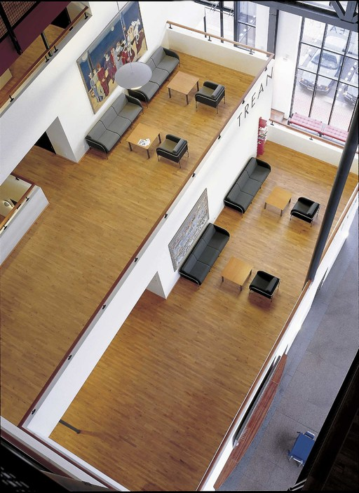 Junckers Beech SylvaKet Solid 2-Strip Flooring, Silk Matt Lacqured, Variation, 129x22 mm