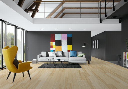 Junckers Dark Ash Solid Wood Flooring Oiled Classic 140x205 Mm