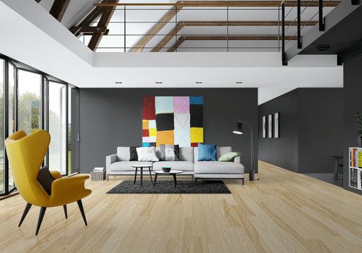 Junckers Nordic Dark Ash Solid Wood Flooring Ultra Matt Lacquered Classic 140x205 Mm