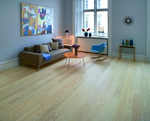 Junckers nordic light ash solid wood flooring ultra matt for Light solid wood flooring