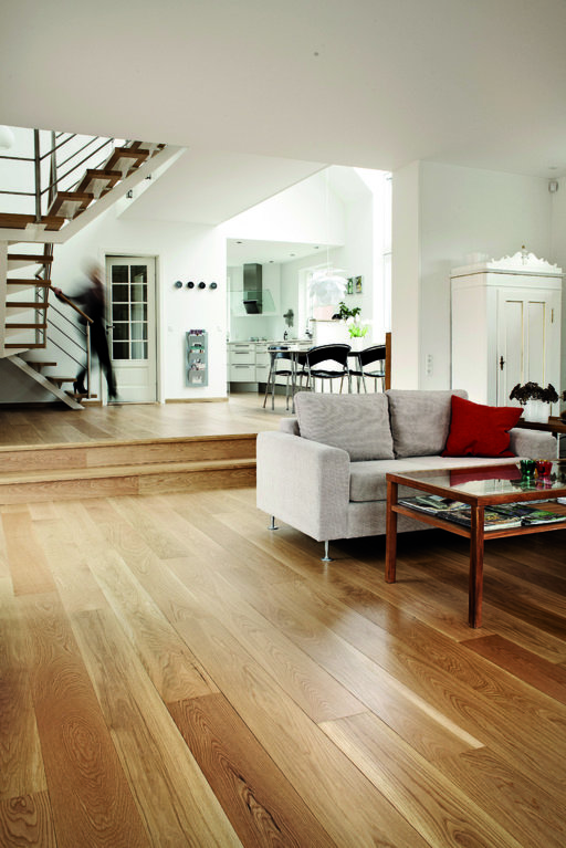 Junckers solid oak boulevard wood flooring untreated for Parquet armony floor