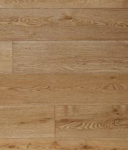 Kersaint Cobb Engineered Natural Oak Flooring, Rustic, Brushed, Lacquered, 189x6x20 mm