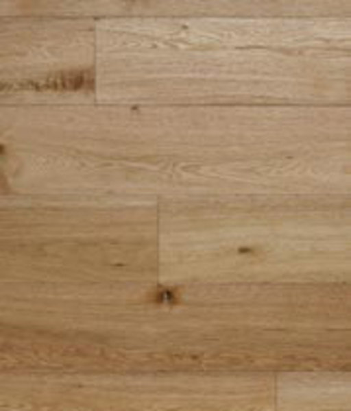 Kersaint Cobb Engineered Natural Oak Flooring, Rustic, Brushed, UV Oiled, 189x6x20 mm