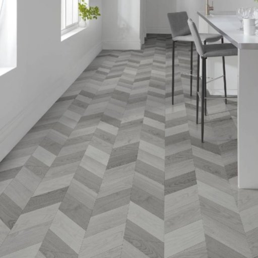 Lifestyle Camden Herringbone Light Laminate Flooring, 8 mm
