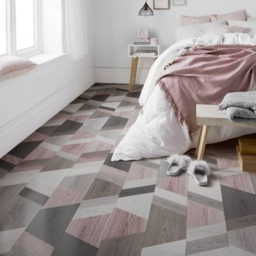 Lifestyle Camden Premium Wriggle Blush Laminate Flooring, 8 mm