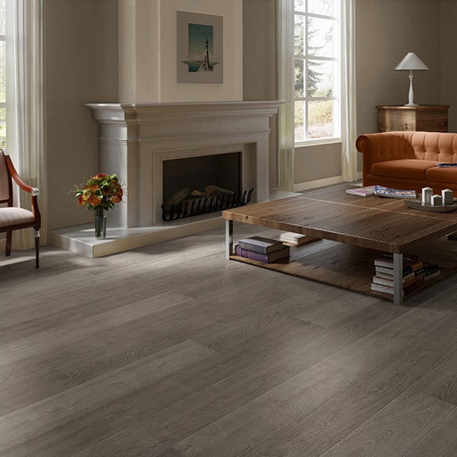 Quickstep largo grey vintage dark oak 4v planks laminate for Quickstep kitchen flooring