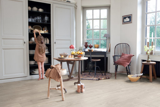 QuickStep LARGO Dominicano Oak Grey Planks Laminate Flooring 9.5 mm