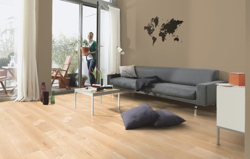 Boen Andante Maple Canadian Engineered Flooring, Protect Ultra, 138x3.5x14 mm