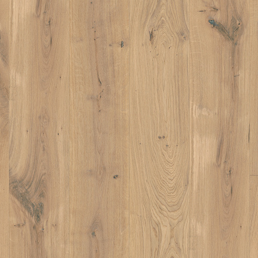 QuickStep Massimo Cappuccino Blonde Oak Engineered Flooring, Extra Matt Lacquered, 260x2.5x14 mm