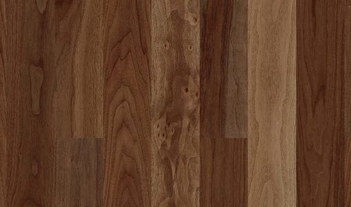 Boen Maxi American Walnut 1-Strip Parquet Flooring, Oiled, 2V Bevel, 10.5x100x833 mm