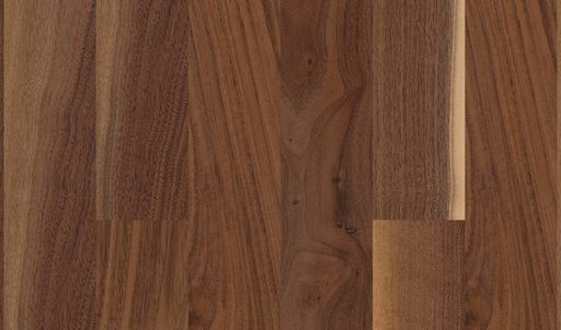 Boen Prestige Walnut American Parquet Flooring, Baltic, UV Lacquered, 10x70x590 mm