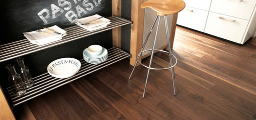 Boen Animoso Walnut American Engineered Flooring, Matt Lacquered, 138x3.5x14 mm