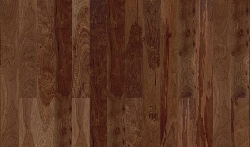 Boen Animoso Walnut American Engineered Flooring, Satin Lacquered, 138x3.5x14 mm