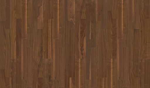 Boen Andante Walnut American Engineered 3-Strip Flooring, Oiled, 215x3x14 mm