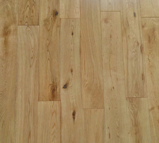 Tradition Engineered Oak Flooring, Rustic, Lacquered, 125x5x18 mm