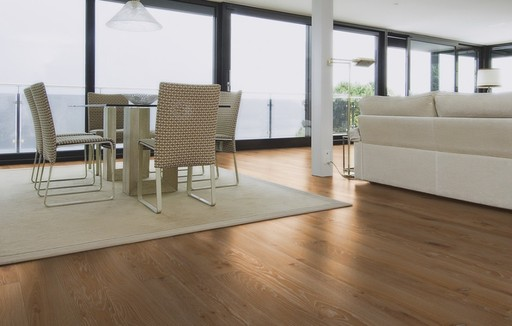 Boen Old Grey Oak Engineered Flooring, Whitewashed, Brushed, Oiled, 138x3.5x14 mm