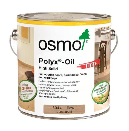 Osmo Polyx-Oil Hardwax-Oil, Effect, Raw Finish, 0.75L