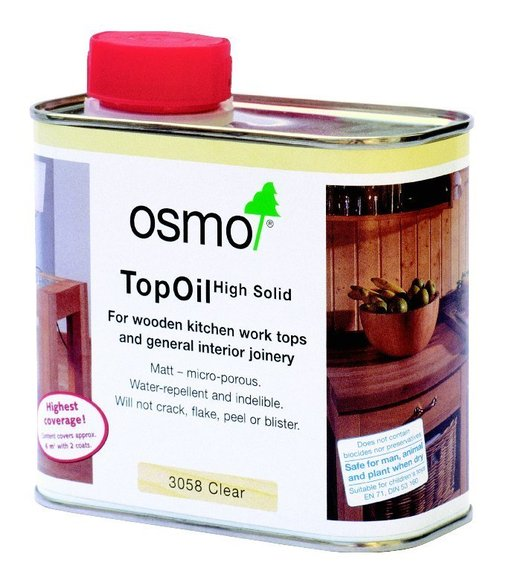 Osmo Top Oil, Matt Finish, 0.5L