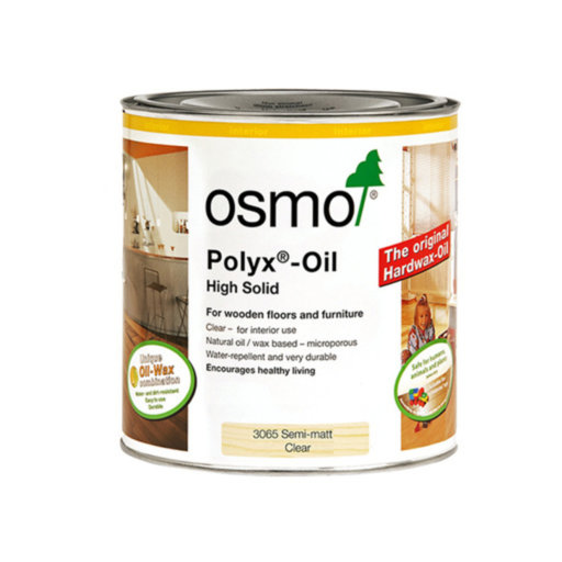 Osmo Polyx-Oil Hardwax-Oil, Original, Semi Matt Finish, 2.5L