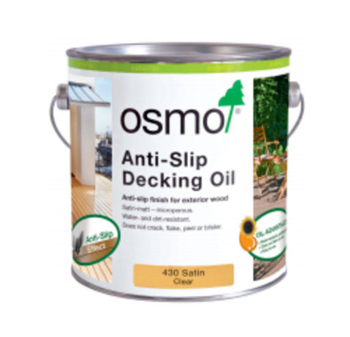 Osmo Anti-Slip Decking Oil, Satin, 0.75L