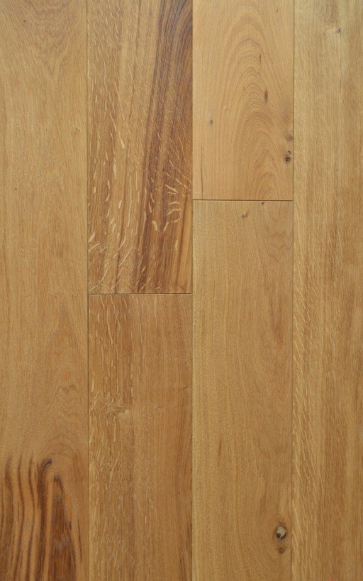 Tradition Solid Oak Flooring, Brushed & Oiled, Rustic, 150x20 mm