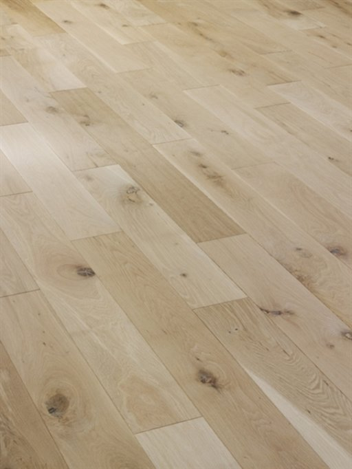Tradition Unfinished Solid Oak Flooring, Rustic, 70x20 mm