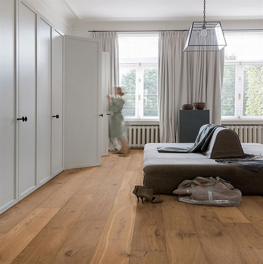 QuickStep Palazzo Cinnamon Oak Engineered Flooring, Extra Matt Lacquered, 1820x190x14 mm