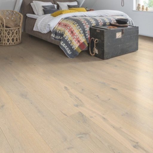 QuickStep Palazzo Glacial Oak Engineered Flooring, Extra Matt Lacquered, 1820x190x14 mm
