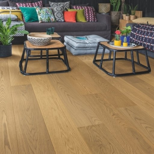 QuickStep Palazzo Ginger Bread Oak Engineered Flooring, Extra Matt Lacquered, 1820x190x14 mm