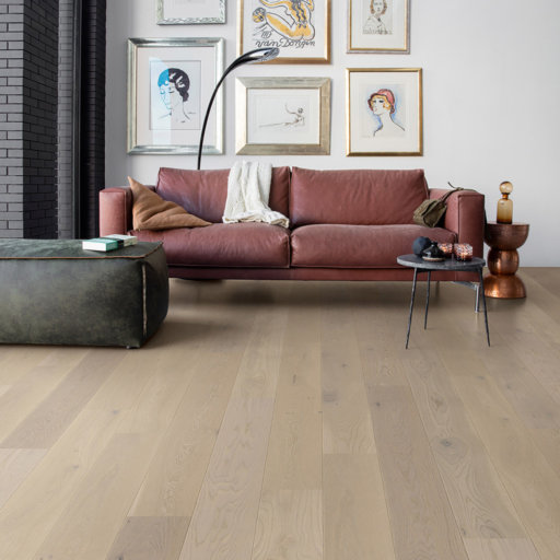 QuickStep Palazzo Silver Oak Engineered Flooring, Extra Matt Lacquered, 1820x190x14 mm