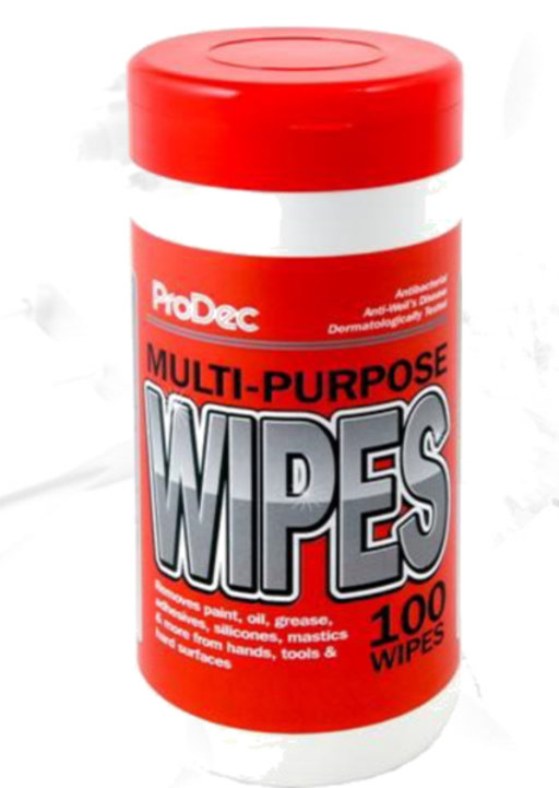 Multi-Purpose Builders Wipes, Tub 100