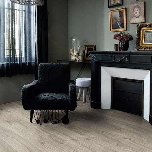 QuickStep Livyn Pulse Click Autumn Oak Warm Grey Vinyl Flooring