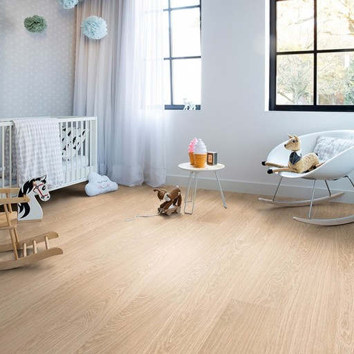 QuickStep Livyn Pulse Click Pure Oak Blush Vinyl Flooring