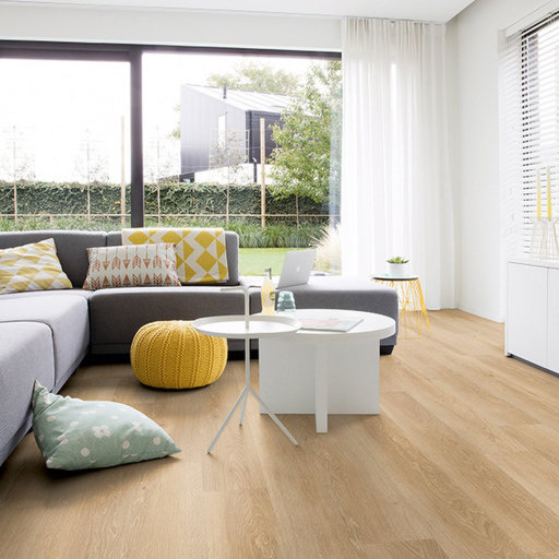 QuickStep Livyn Pulse Click Plus Sea Breeze Oak Natural Vinyl Flooring