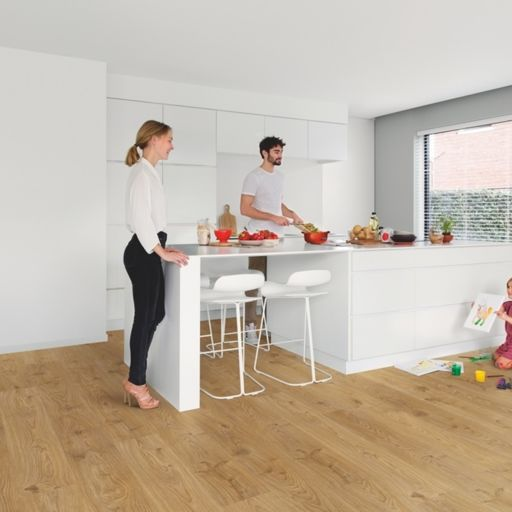 QuickStep Livyn Balance Rigid Click Plus Cottage Oak Natural Vinyl Flooring