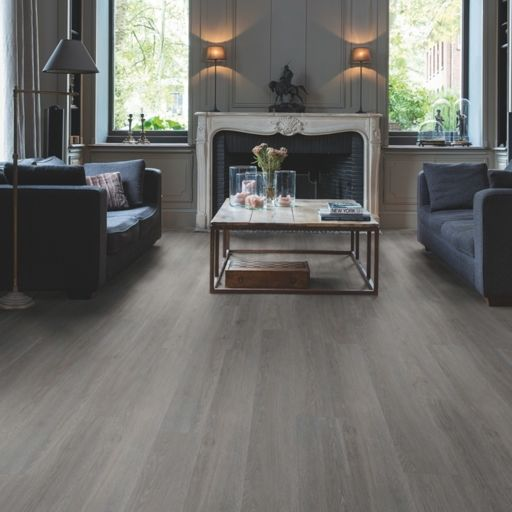 QuickStep Livyn Balance Rigid Click Plus Silk Oak Dark Grey Vinyl Flooring