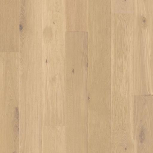 QuickStep Palazzo Almond White Oak Engineered Flooring, Brushed, Oiled, 190x14x1820 mm