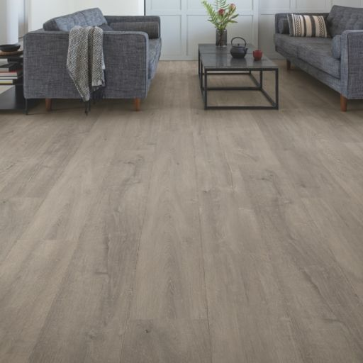 QuickStep Signature Patina Oak Grey Laminate Flooring, 9 mm