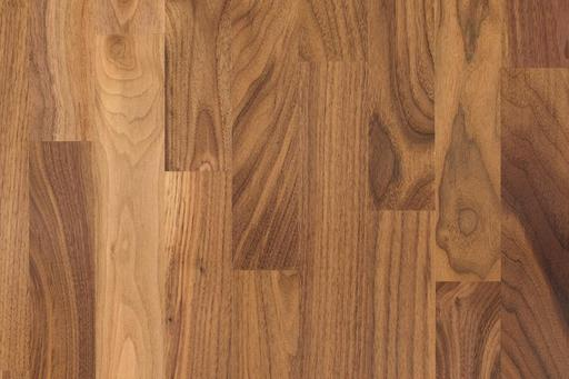Xylo Walnut Engineered Flooring, 3-Stripped, Rustic, Oiled, 210x3x15 mm