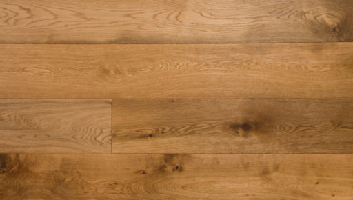 Xylo European Oak Engineered Flooring, Smoked, Brushed, Oiled, 190x4x20 mm
