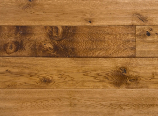 Xylo Engineered Oak Flooring, Handscraped, Smoked, Brushed, UV Oiled, 190x4x20 mm